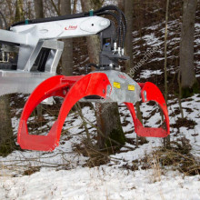 Fliegl Rückezange Combi Plus RZ 185 used Forest crane