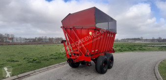 VIII High tipper used Forestry trailer