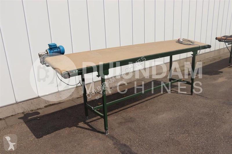 Se fotoene Opbevaring/oplagring nc Flat conveyors