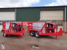 Citerne, cuve, tonne à eau Mobiele brandstofwagen