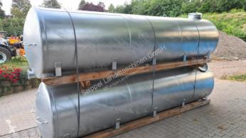 Cisterna, cuba, tonel de água Keine Angabe 4000L Zink auf Kufe