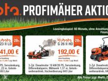Trávníkový žací stroj Kubota G23-II HD ab 0,0% buchens.de