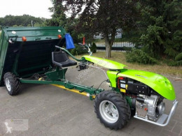 Zelené plochy Rotačný kultivátor Einachser Traktor 12PS Einachstraktor Anhänger Triebachsanhänger