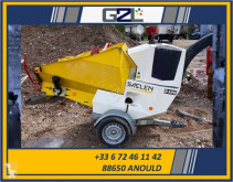 Zonas verdes jardins Triturador de ramos Saelen TIGER 25DR *ACCIDENTE*DAMAGED*UNFALL*