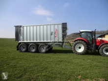Fliegl TMK 376 Bull 43m³ used monocoque dump trailer