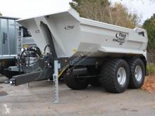 Landbrugscontainer/ladvogn Fliegl Stone Master 252 Erdmulde Halfpipe