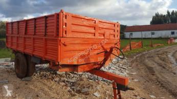 remolque agrícola nc Fialho 6.5T Tribasculante