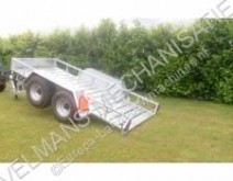 used equipment flatbed farming trailer