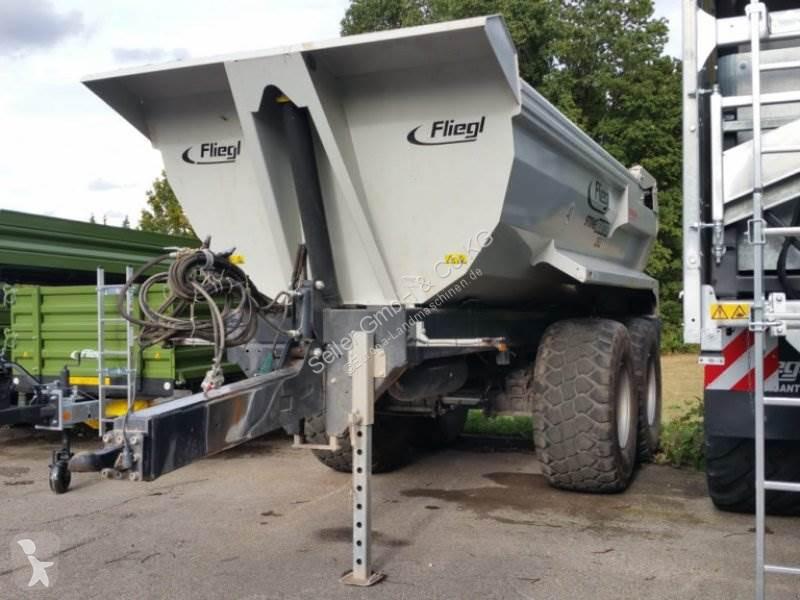 Ver las fotos Remolque agrícola Fliegl Stone Master 252 Erdmulde Halfpipe Vorführmaschine