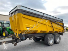 La Littorale 175 L used monocoque dump trailer