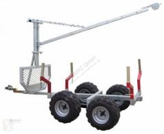 ATV Quad 2ton Rückewagen Holzrückewagen Forst Kran Traktor remolque forestal nuevo