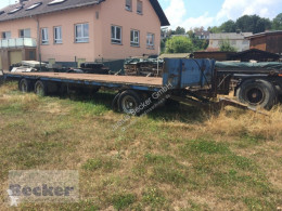 Remolque agrícola caja abierta portamaterial Ballenwagen PAT 24
