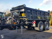 Benne monocoque agricole Fliegl ASW 252 Stone Black Bull Schwerlast-Abschiebewagen