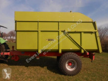 Peveling used monocoque dump trailer