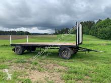remolque agrícola caja abierta portamaterial usado
