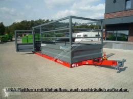 Bétaillère UNIA Transportplattform mit Viehaufbau rundum, (Mehrpreis), NEU