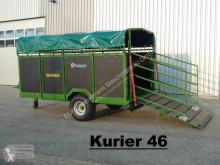 Kurier 46/1 für 10 GV, Kurier 46/2 für 12 GV hydr. absenkbar new livestock trailer