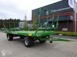 Remolque agrícola Plataforma forrajera Pronar 2-achs Ballentransportwagen, TO 25 M; 12,0 to