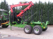 Pronar Forestry trailer Holztransportanhänger, T 644/1, NEU