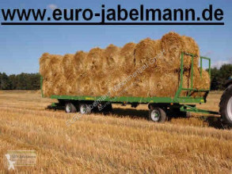 Remolque agrícola Plataforma forrajera Pronar 3-achs Ballentransportwagen, TO 23; 15,0 to, NEU