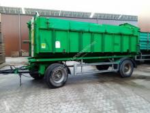 Landbrugsvogn påhængsvogn/anhænger med sidefjæl nc Westrick W18