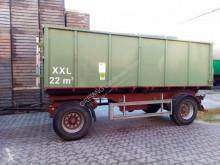 Reboque agrícola reboque plataforma nc BRUN XXL 22m³