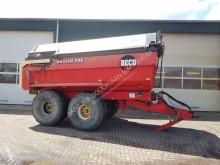 Remolque agrícola Beco Maxxim 200 met afdekluiken usado