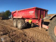 Remolque agrícola Volquete agrícola Krampe SK 550 Erdmulde