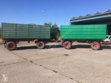 Remolque agrícola nc HW 80-Zug mit Silageaufbau, Einsatzbereit usado