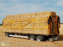 Remolque agrícola Wielton PRS 18-24 Plataforma forrajera usado