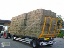 Remolque agrícola Wielton PRS Plataforma forrajera usado