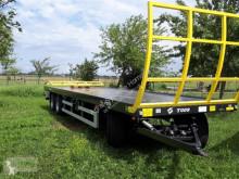 Remolque agrícola T 15 Plataforma forrajera usado