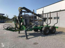 Remolque agrícola Farma T 6-9 Remolque forestal usado