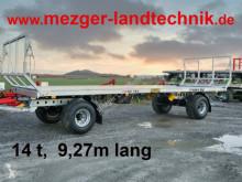 Estrado forrageiro 14t; 9,27 m lang; Ballenwagen;