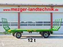 Krmivová plošina Pronar T025 Ballenwagen 12 t (Lageranhänger)