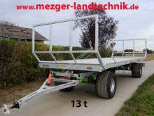 Remolque agrícola T-608/2 13t Ballenwagen Plataforma forrajera nuevo