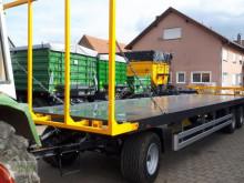 مقطورة زراعية Wielton PRS 24 منصة نقل الأعلاف مستعمل