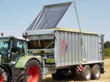 Reboque basculante agrícola Fliegl Speedcover Laderaumabdeckung