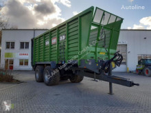 Agricultural monocoque dump trailer HAWE SLW 45 TN SILAGETRANSPORT