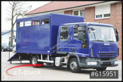 Iveco ML80E18D, Pferde, 7 Sitze, Doka Tüv 11/21 remorcă transport animale second-hand