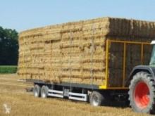 Remolque agrícola Wielton Autres Plataforma forrajera usado