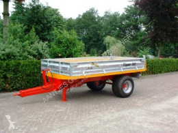 Jako agricultural monocoque dump trailer Tiger kippers enkele as