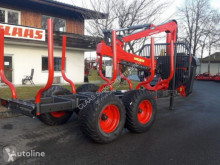 Forestry trailer KRPAN GP 12D+GD 8,6K