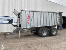 Remolque agrícola remolque con descarga por empuje Fliegl GIGANT ASW 268 / FOND POUSSANT