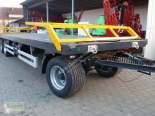 Remolque agrícola Wielton PRS 24-40 Plataforma forrajera usado