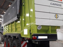 Claas CARGOS 750 TREND TRIDEM benne monocoque agricole occasion