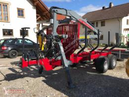 Remolque agrícola RW 14 4DL mit FK7000 Remolque forestal nuevo