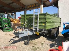 Remolque agrícola volquete con cortina Fliegl TDK100VR