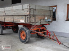 Remolque agrícola Lang 7,1 t volquete con cortina usado
