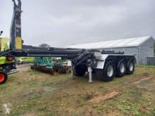 Remorcă agricolă Krampe HAKENLIFT SATTELAUFLIEGER HKS sistem cu cârlig de ridicare second-hand